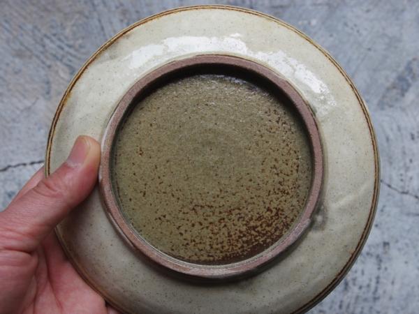 志村和晃 鉄絵 鳥文5.5寸皿-4