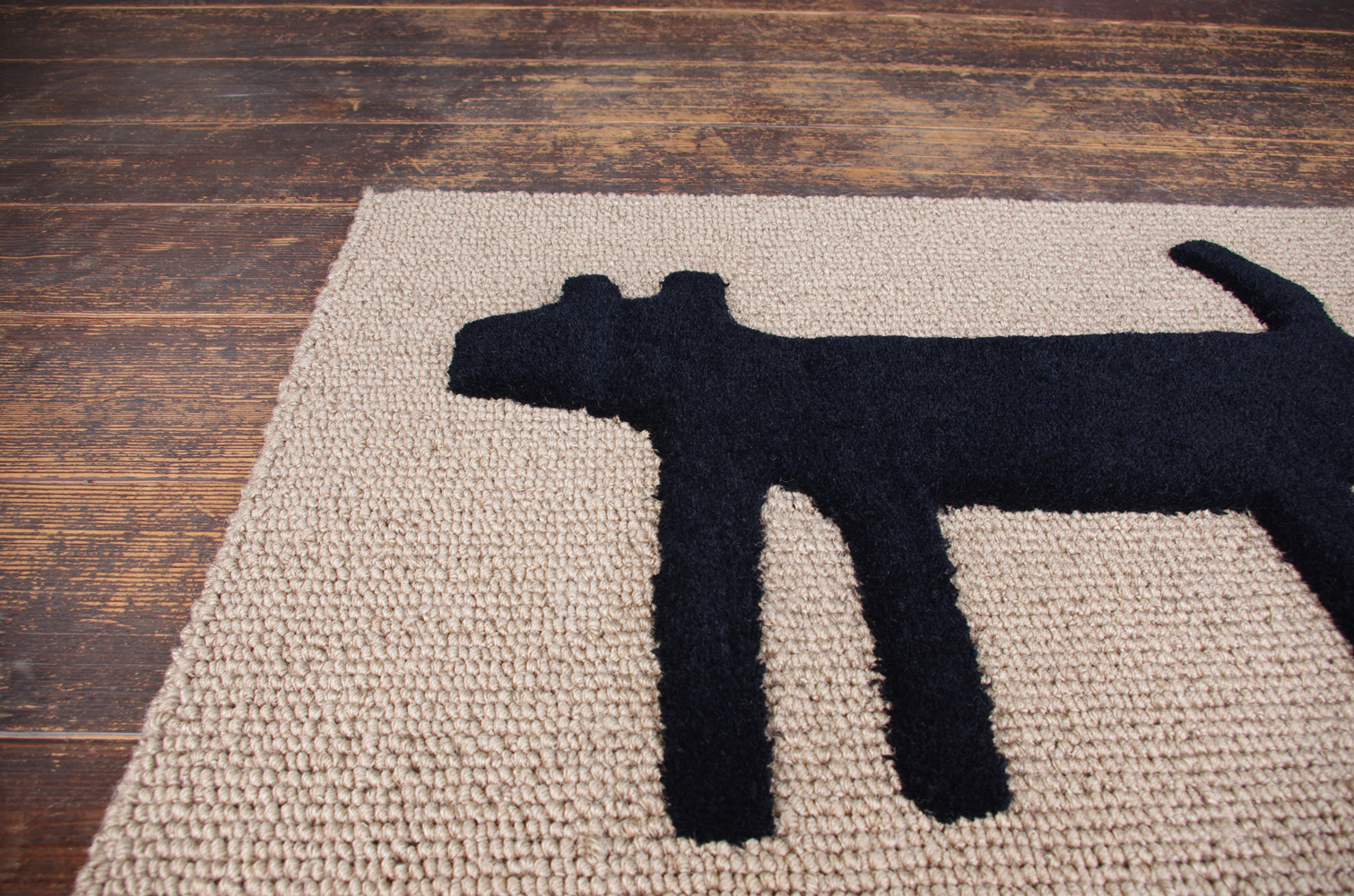 F:style doormat HOUSE blk-4