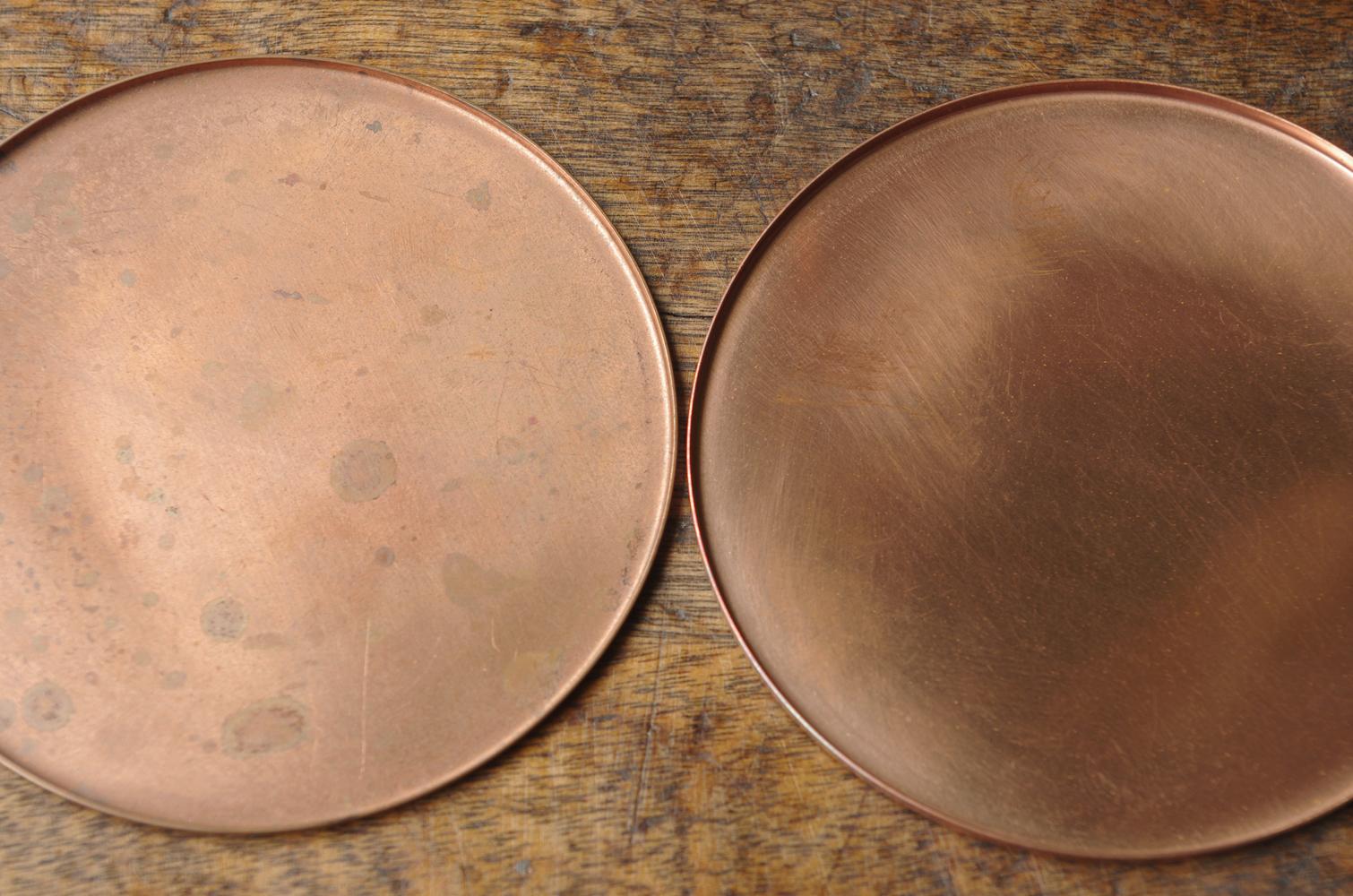 銅のコースター 素銅-4