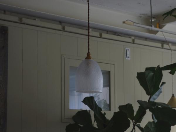 Daisau Hashimura pendant lamp ice crack-2