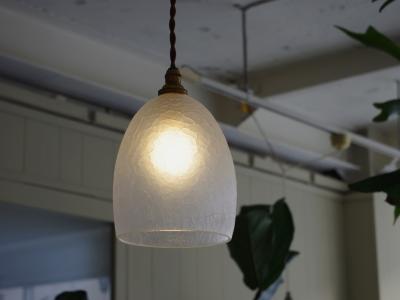 Daisau Hashimura pendant lamp ice crack-3
