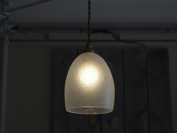 Daisau Hashimura pendant lamp ice crack-5